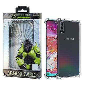 Samsung A70 Hoesje Transparant - Anti-Shock