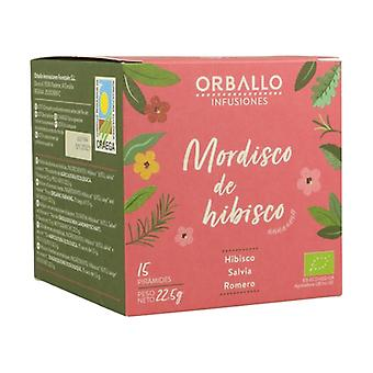 """Infusion """"Hibiscus Bite"""" 15 infusion bags"""
