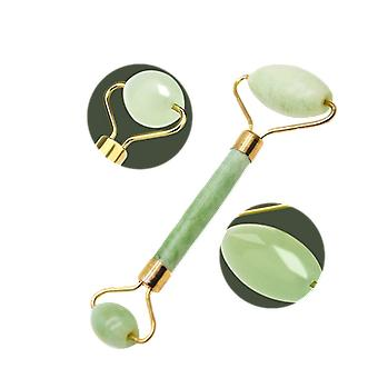 Double Natural Head, Facial Massage Roller, Jade Face Slimming Body /head /neck