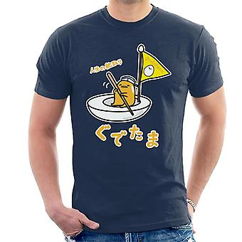Gudetama Egg Boat Men's T-Shirt
