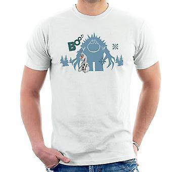 Disney frozen Marshmallow hinter Olaf Boo Männer's T-Shirt