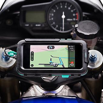 Iphone x / xs motorcycle sportsbike mount tough waterproof case
