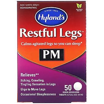 Hyland's, Restful Legs PM, 50 Quick-Dissolving Tablets