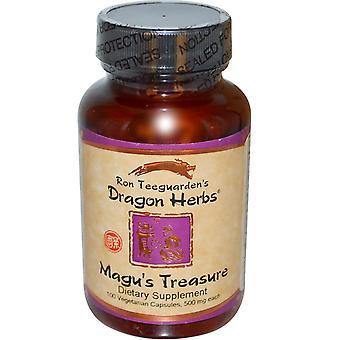 Dragon Herbs, Magu's Treasure, 500 mg, 100 Veggie Caps