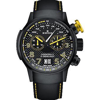 Relógio cronoral masculino Edox 38001 TINNJ NJ3