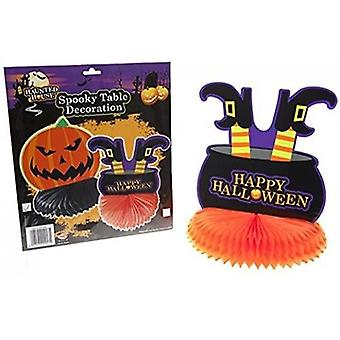 Halloween Honeycomb Table Centres Decoration 25cm 1 Supplied At Random