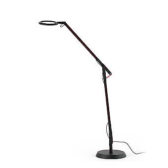 Led Ściemnialna regulowana lampa podłogowa czarna