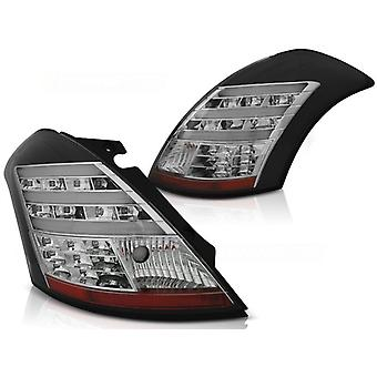 Tylne światła SUZUKI SWIFT V 10- CZARNY PASEK LED