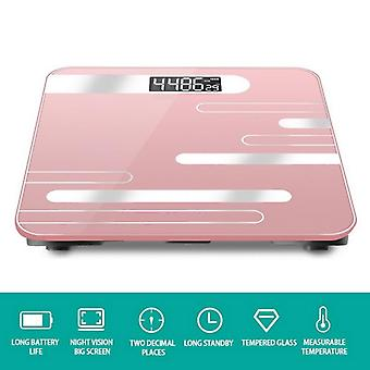 Body Fat Scale Floor Scientific Smart Electronic Led - Digital Weight Balance