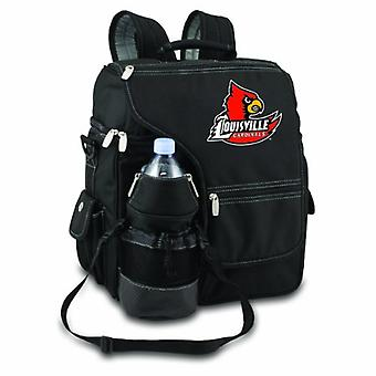 Turismo - Black (U Of Louisville Cardinals) Digital Print Backpack