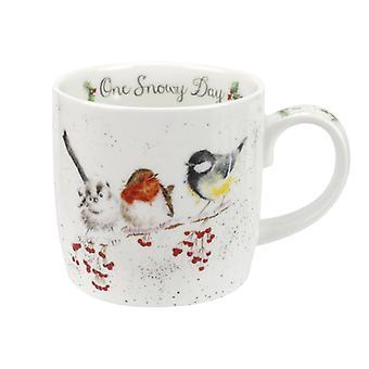 Royal Worcester Wrendale One Snowy Day Mug