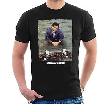 Animal House John Bluto Blutarsky Sitting Men's T-Shirt