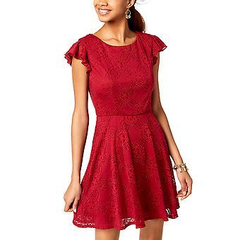 Trixxi Clothing Company   Flutter Ruffle Dress