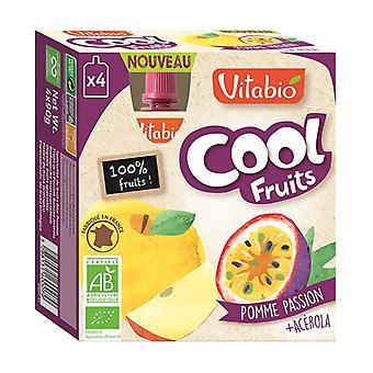 Gourde Cool Fruits Pomme Passion BIO 4 unités de 90g
