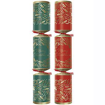 "Swantex Festive Foliage Christmas Crackers 10"""
