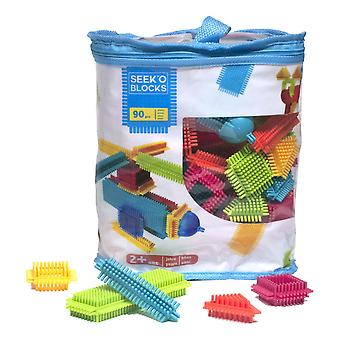 Faujas Seek'O Building Blocks PVC Bag 90pcs Unisex (BA1002)