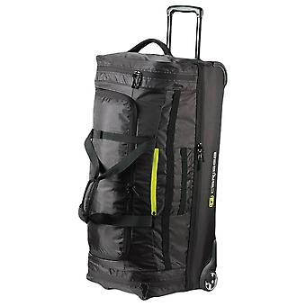 Caribee Scarecrow 100L Rolling Bag - Black