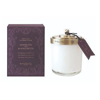 Mor Fragrant Candle 380G Green Fig And Sandalwood