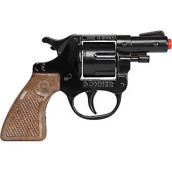CAP GUN  - 73/6 - Gonher Police Revolver 8 Shots