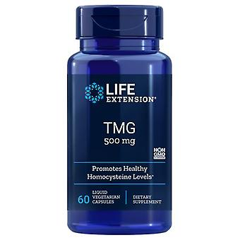 Life Extension TMG, 500 mg, 60 Flydende Vcaps
