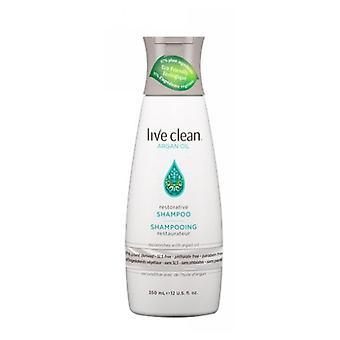 Live Clean Argan Oil Restorative Shampoo, 12 Oz