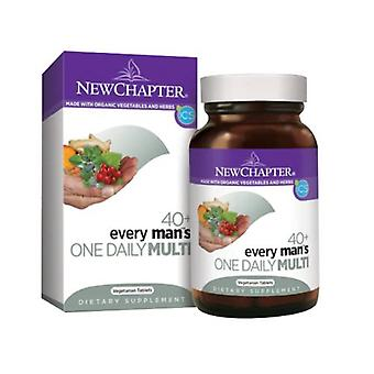 New Chapter Every Man's One Daily 40 Plus Multi, 24 tabs