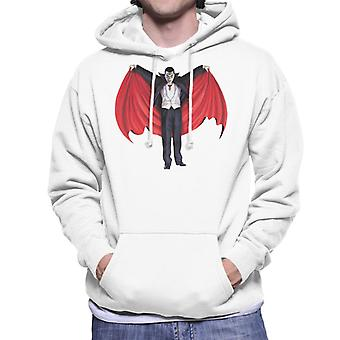 Dracula Cape Full Men's Hooded Sweatshirt