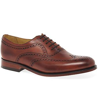 Barker Southport Mens Full Wing Tip Brogue Shoes
