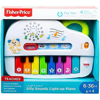 Fisher price laugh & learn light up piano activate lights, songs and toy music