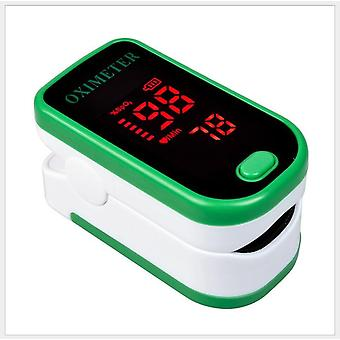 Finger Blood Pulse Oxygen Meter Oxygen Saturation Monitor Blood Oximeter Blood Pressure Meter Led