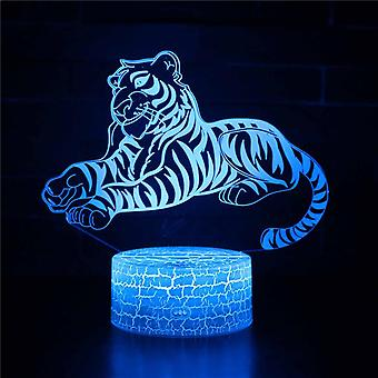3D Touch Light Night 7 colors with remote control - Animal #515