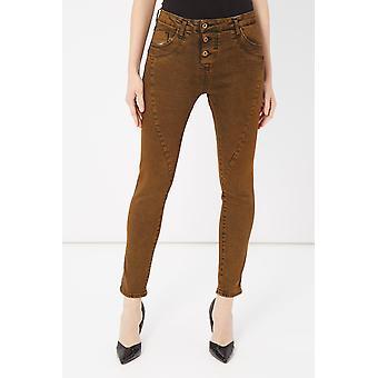Please Marrone Brown Pants & Jean