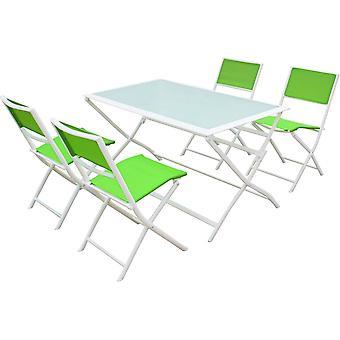 """Sala da pranzo in giardino in tessuto """"Bistro XL"""" - Phoenix - Verde"""