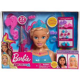 Barbie Dreamtopia - Havfrue Stort Styling Head