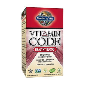 Vitamin Code healthy blood 60 vegetable capsules