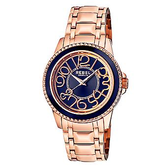 Rebel Unisex Williamsburg Blue Dial Stainless Steel Watch