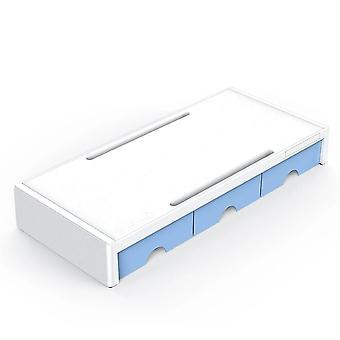 Multi-function Monitor Stand Riser Desktop Holder