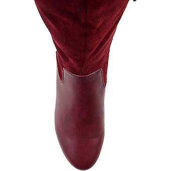Brinley Co Comfort Naisten Kaksisävyinen Ratsastus Boot