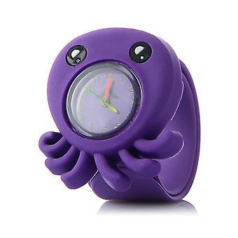 3d Cartoon Watch Animal Cute Clock Baby Kid Quartz Waterproof Student