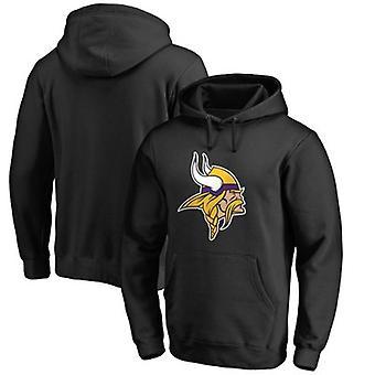 Minnesota Vikings Løs Hettegenser Hettegenser Topper WYK062