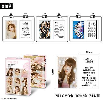Double Print Signture Photocard High Quality