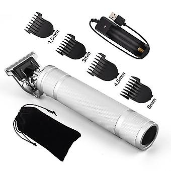 Beard Trimmer Clipper, Cordless Haircut, Bald Headed Hair Barber Cutting