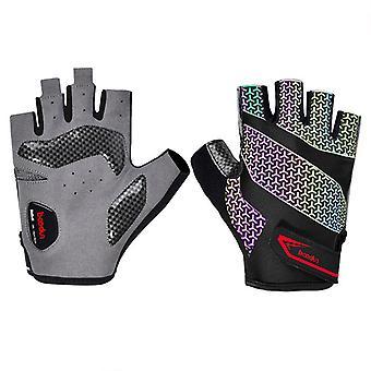 Sport fitness half vinger anti-slip handschoenen B05