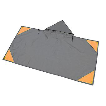 Multifunctional Hooded Winter and Summer Outdoor Waterproof Picnic Mat 110 * 160cm