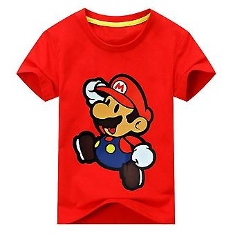 Unisex Short Sleeve Cartoon Tshirt , Design 2