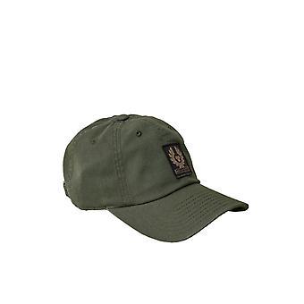 Belstaff Phoenix logo korkki kivääri vihreä