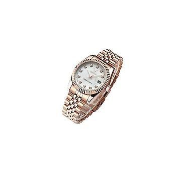 Ladies Watch Rose Gold White Women Woman Smart Watches Two Tone Present UK