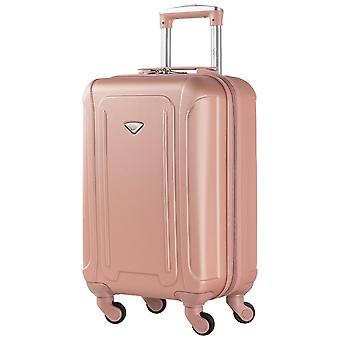 Flight knight lightweight 4 wheel abs cabin case hand luggage 56x35x23cm carry on easyjet jet2 approved luggage