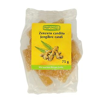 Organic ginger candy with sugar 75 g