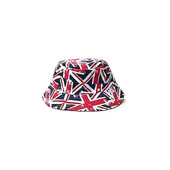 Union Jack Wear Union Jack Flag Bucket Hat - Large Flags